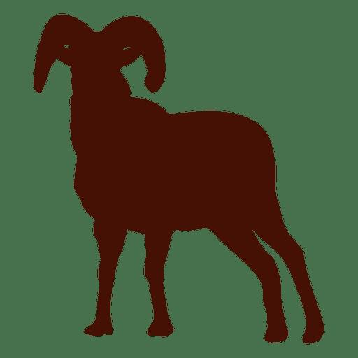 512x512 Goat Silhouette