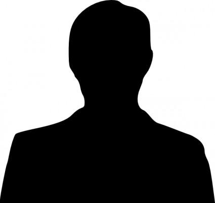 425x402 Man Silhouette Head Clipart