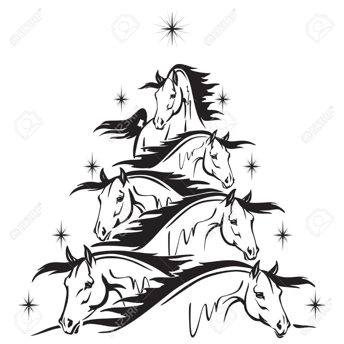 1300x1300 Free Horse Head Clip Art Horse Head2