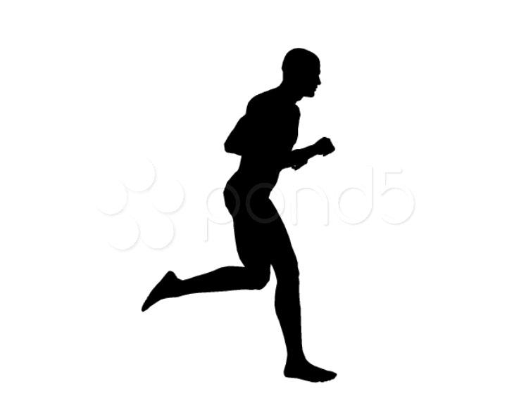 720x576 Running Man ~ Stock Video Footage