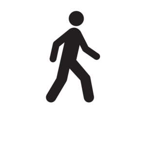 300x300 Man Walking Moving Clip Art