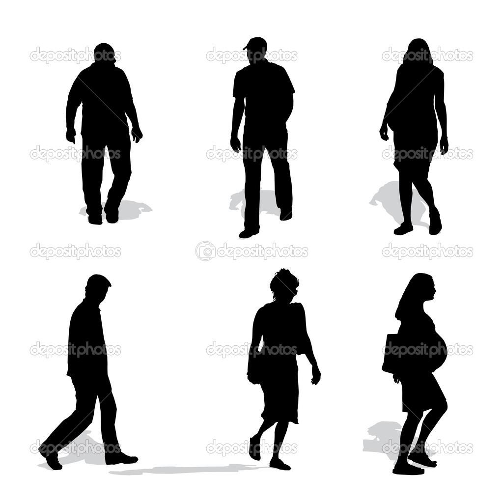 1024x1024 Person Walking Silhouette Vectorworks