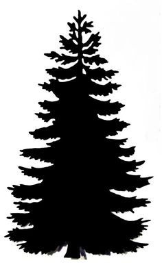 236x390 Pine Tree Iron On Applique Patch Forest Accent By Elainesappliques