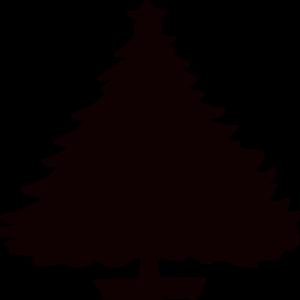 300x300 Pine Tree Outline Clipart Clipart Panda