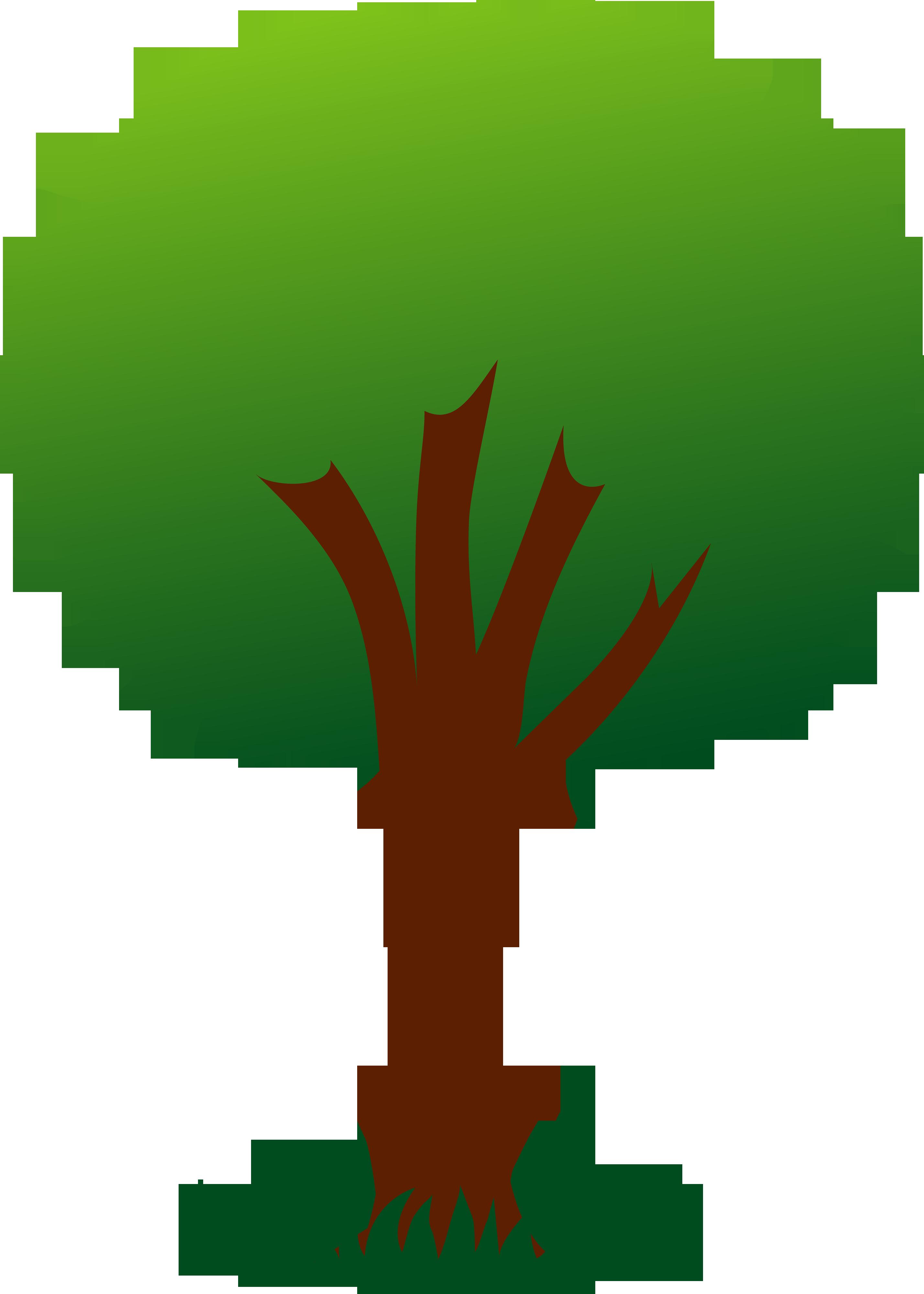 2856x4000 Pine Tree Silhouette