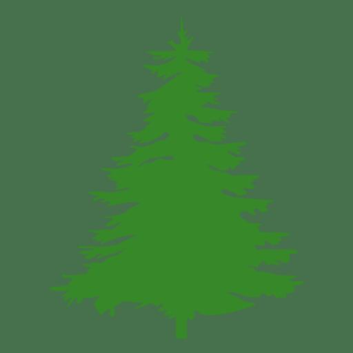 512x512 Pine Tree Silhouette