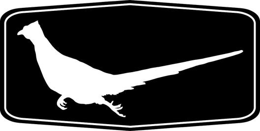 529x267 Running Rooster Pheasant Silhouette, The Runner Pheasant Hunting