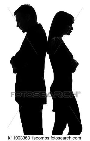 299x470 Sad Couple Clipart