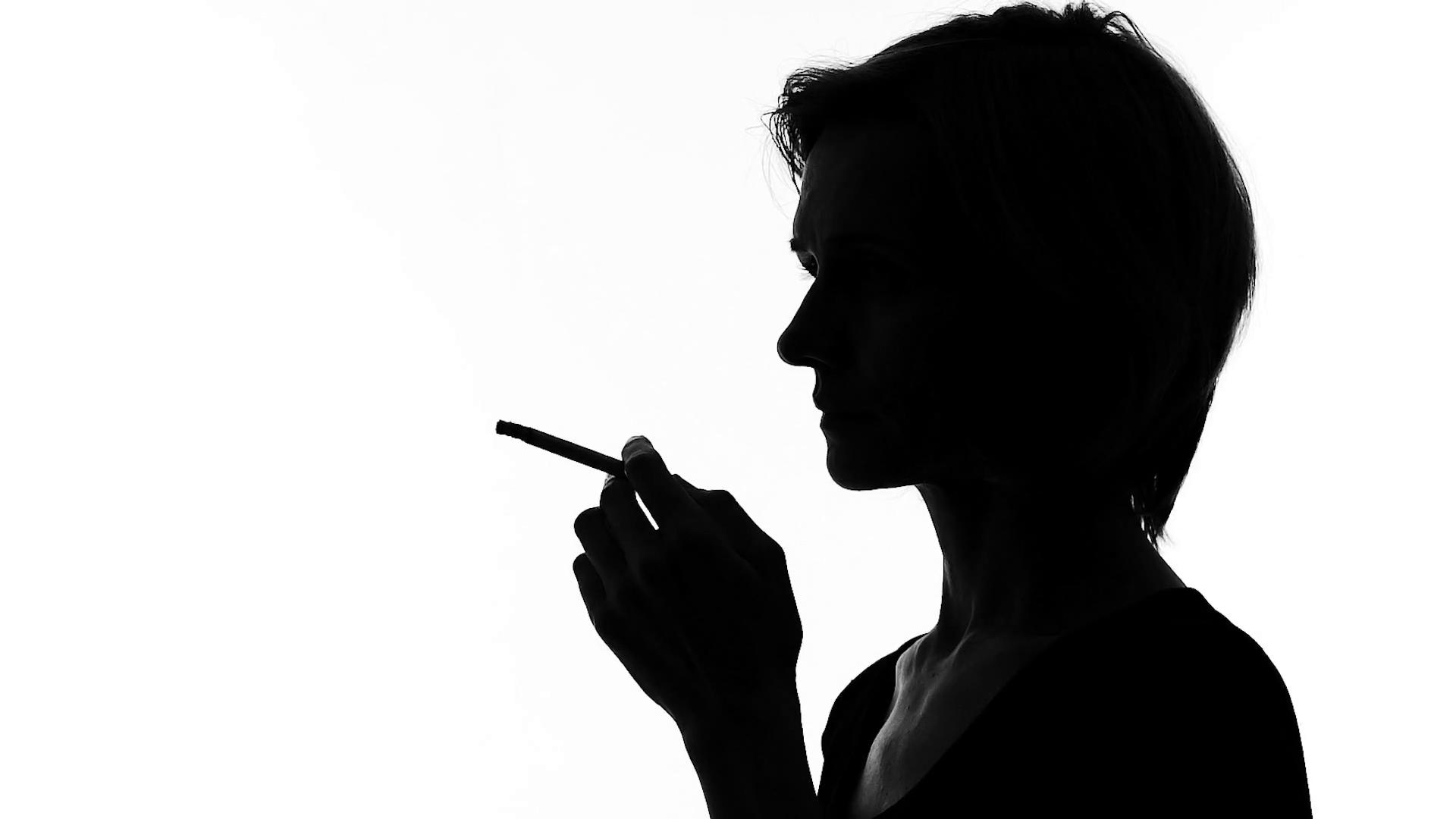1920x1080 Sad Woman Drinking Wine And Smoking, Dangerous Habit Addiction