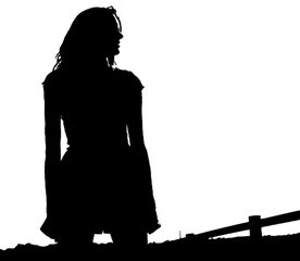 276x240 Free Black And White Sad Girl Images, Pictures, And Royalty Free