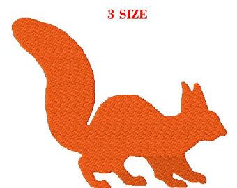 340x270 Squirrel Silhouette Etsy