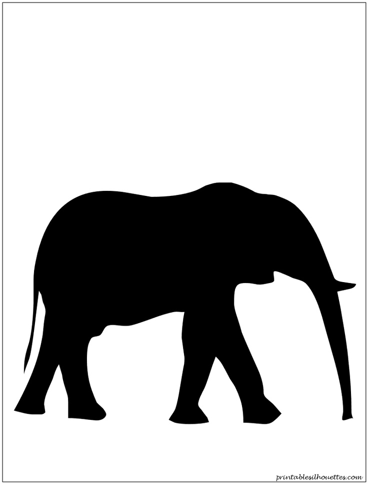 736x966 13 Best Applique And Silhouette Images On Elephant