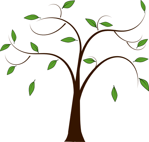 600x574 Tree Without Leaves Clipart