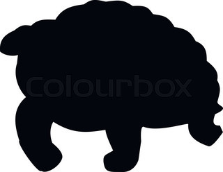 320x248 Set Of Turtle And Tortoise Silhouette, Vector Stock Vector