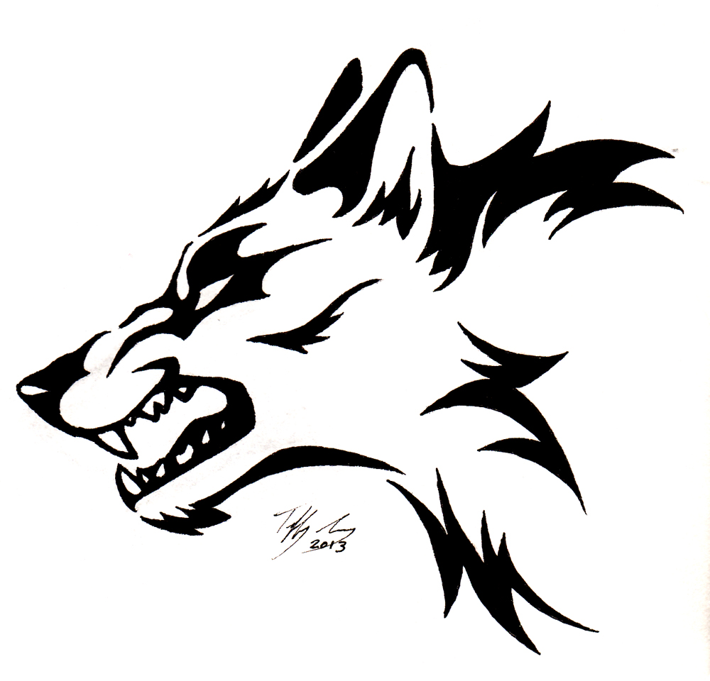 1000x960 Animated Wolf Howling
