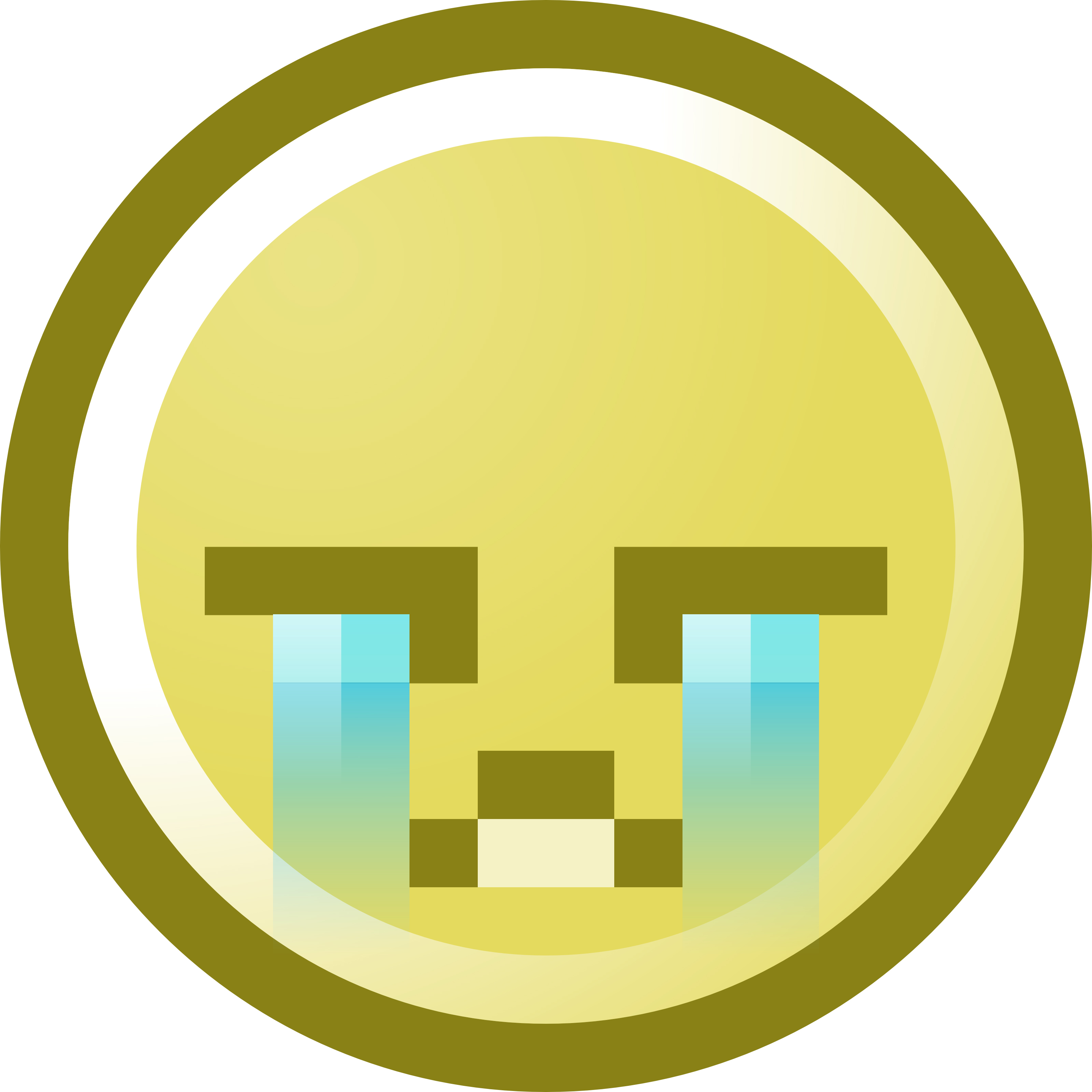 3200x3200 Free Sad Crying Face, Hanslodge Clip Art Collection
