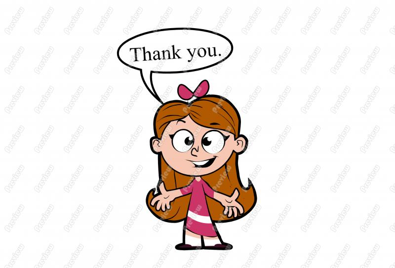 800x543 Cartoon Clipart Girl Image