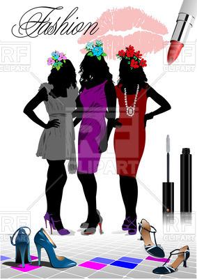 283x400 Women Silhouettes
