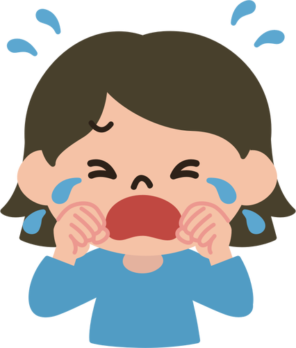 426x500 Crying Lady Vector Image Public Domain Vectors