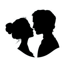 236x236 Free Face Silhouettes Printable ~ These Would Be Great To Use