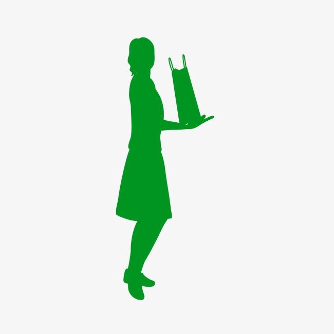 650x650 Silhouette Woman Cartoon Villain, Hand Drawn Silhouette Of A Woman