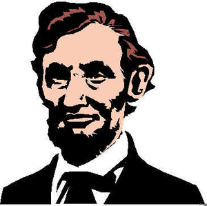 300x299 Fancy Idea Abe Lincoln Clipart Abraham Svg Etsy