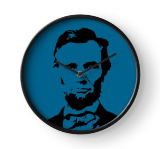 315x294 Lincoln Silhouette By Ares286 Redbubble