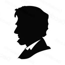 225x225 Hand Cut Abraham Lincoln Silhouette By Theorchardhousewomen 1350