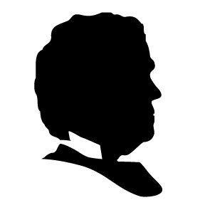 288x288 Abraham Lincoln Silhouette