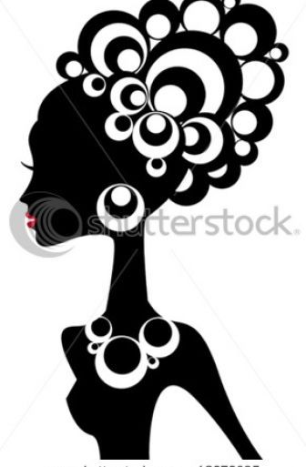 336x513 African American Woman Silhouette African American Woman