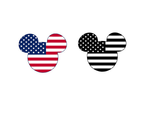 570x456 Mickey Mouse Svg American Flag Svg Mickey Mouse Head Svg Mickey