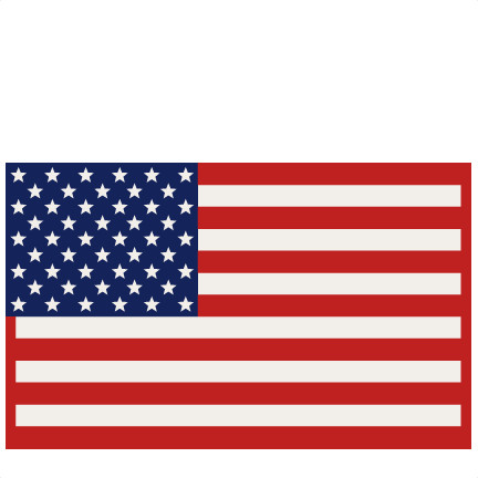 432x432 Printable American Flag Free Coloring Pages