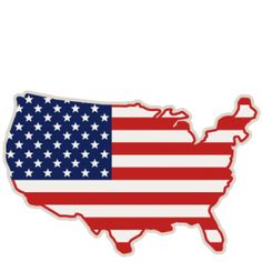 236x236 American Flag Svg Scrapbook Cut File Cute Clipart Files