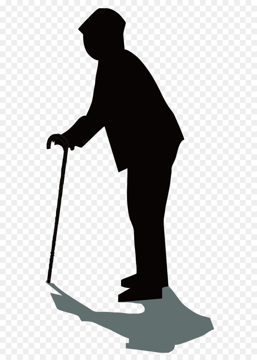 900x1260 Silhouette Old Age