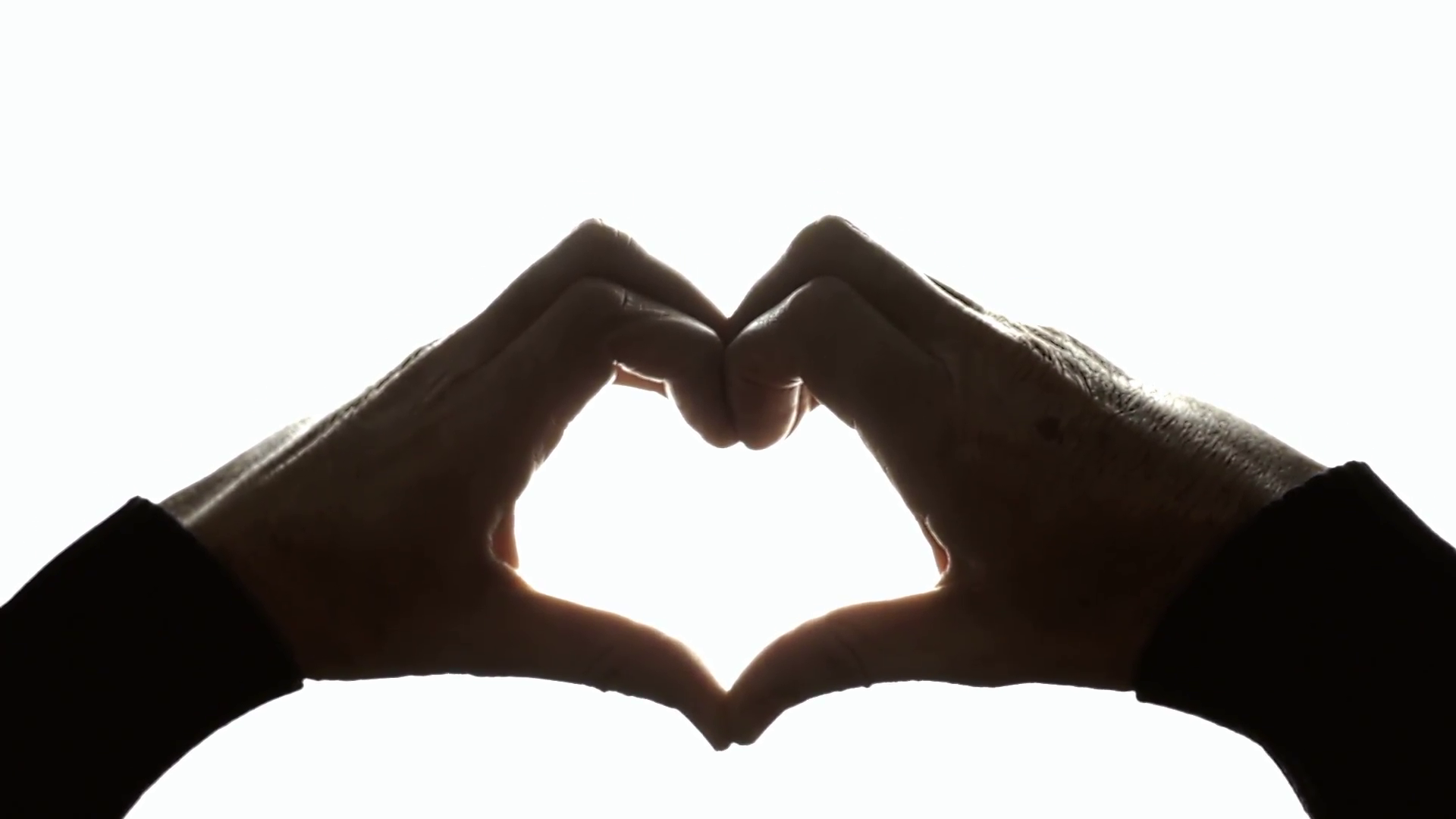 1920x1080 Hands Heart Shape Raising Black. The Hands Of An Old Man Raising