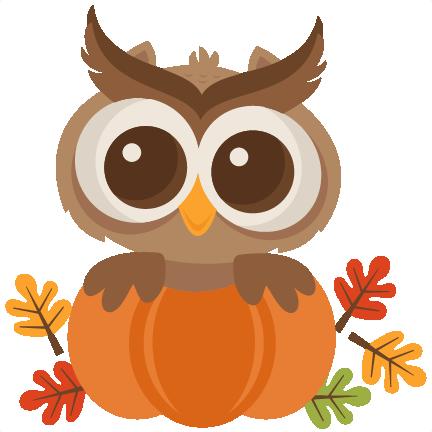 432x432 Fall Owl Svg Scrapbook Cut File Cute Clipart Files For Silhouette