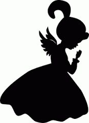 174x240 Silhouette Of An Angel