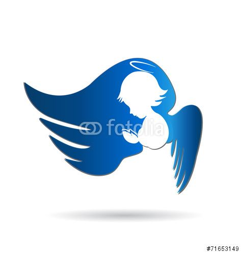 475x500 Vector Angel Logo Icon Vector Angels,religion,faith,believe
