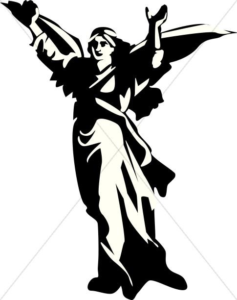 485x612 Angel Clipart Angel Gabriel