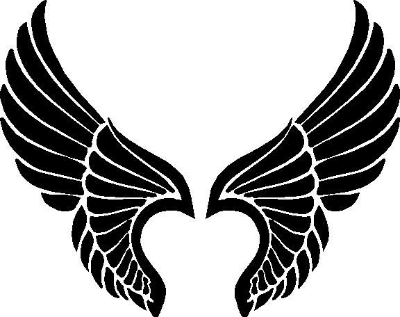 576x456 Angel Wings Logo