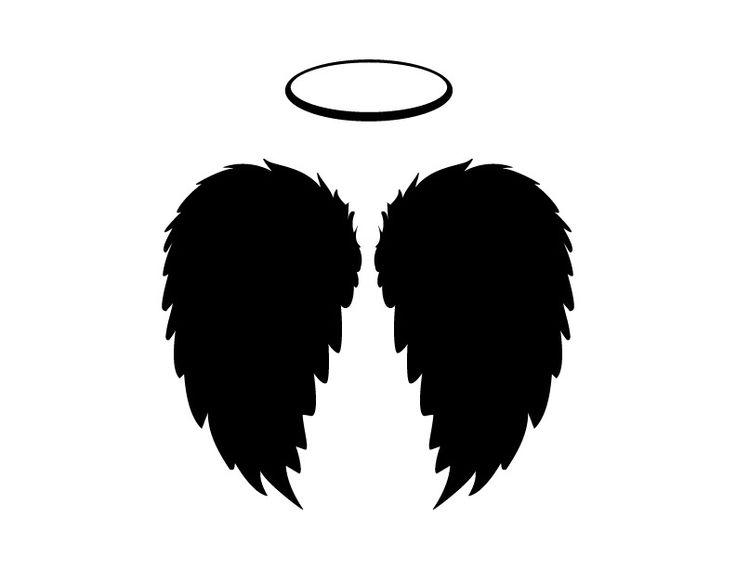 736x568 Dark Angel Clipart Silhouette