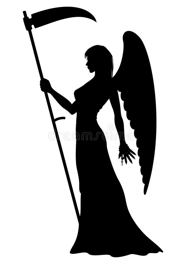 636x900 Angel Of Death Clipart