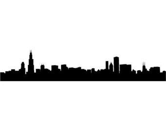 340x270 Free Cleveland Skyline Outline, Hanslodge Clip Art Collection