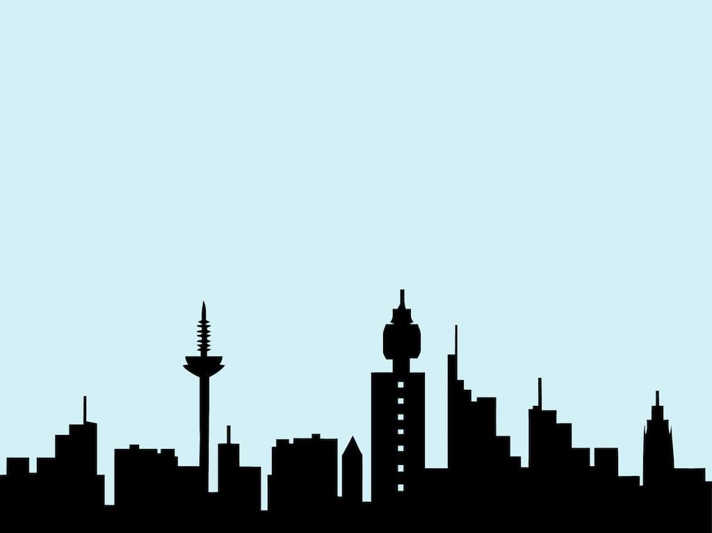 1024x767 Skyline Clipart Cartoon