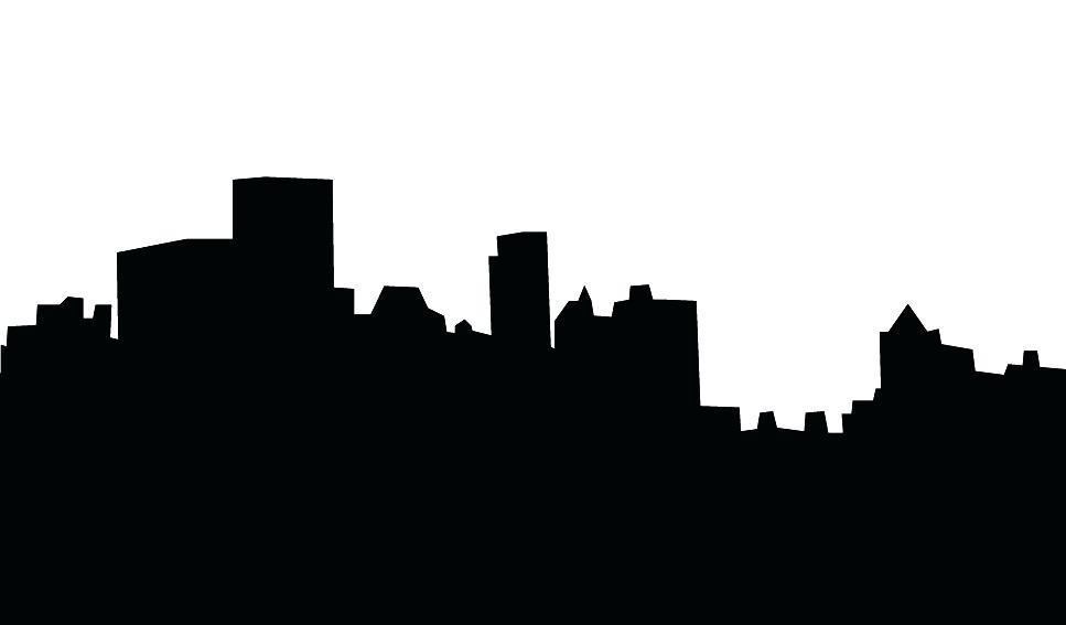967x567 Atlanta Skyline Silhouette House Silhouette Art Atlanta Skyline