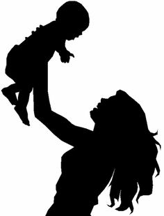 236x310 Baby Silhouette Hip Teacher Mama