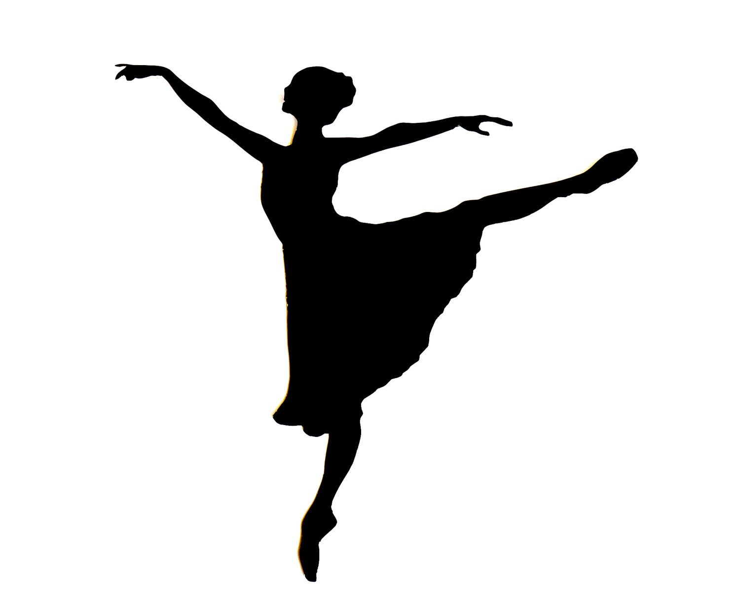 1500x1223 Ballerina Silhouette Ballerina Silhouette Template Contact