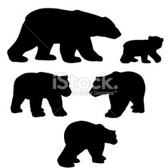 236x236 Grizzly Bear Silhouette Clip Art. Download Free Versions