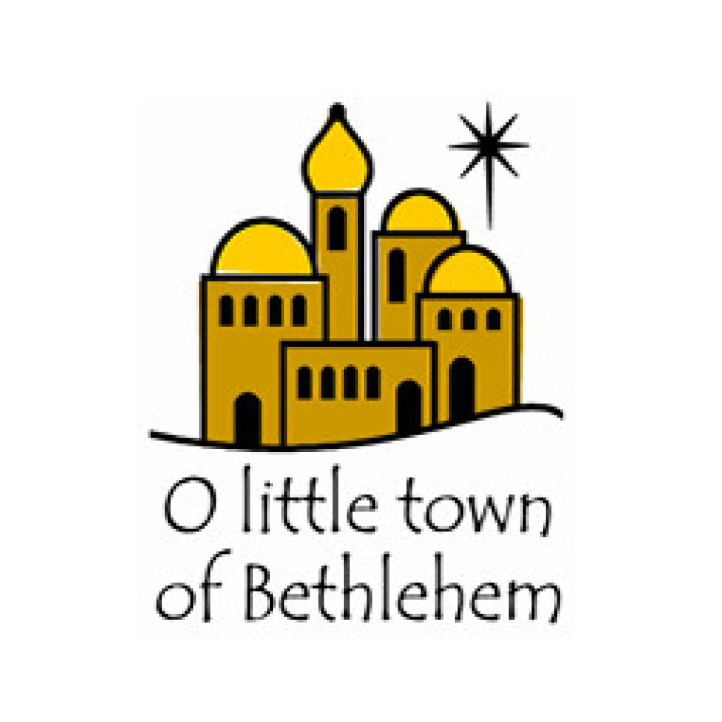 1024x1024 Inkwell Stamps O Little Town Of Bethlehem Holidays Christmas