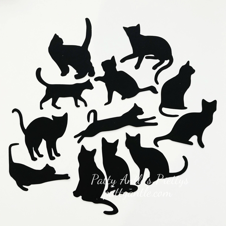 3000x3000 Cat Die Cuts Cat Silhouettes Black Cat Die Cuts Black Cats